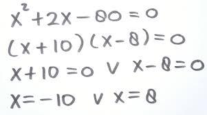 Wiskunde voor Mulo
